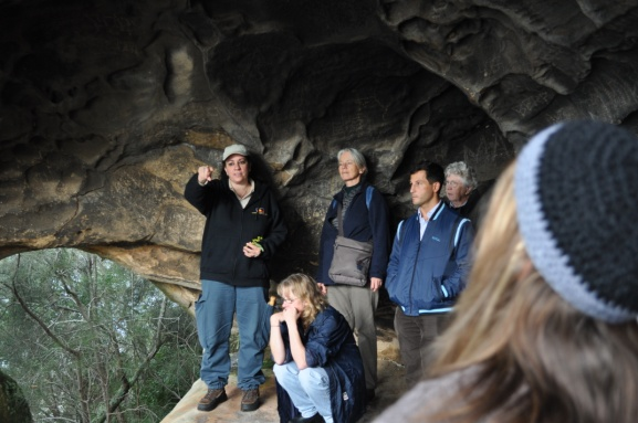 Monitoring Aboriginal Sites around Sydney